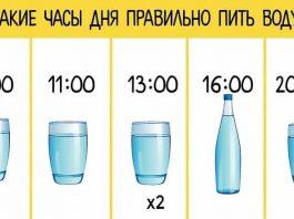 Можно кушать, что хочешь, главное пить воду правильно