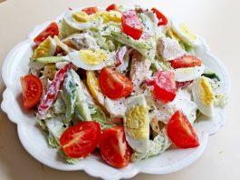 Белковые салаты для быстрого похудения: минус 3 кг за первую неделю, минус 5 — после второй