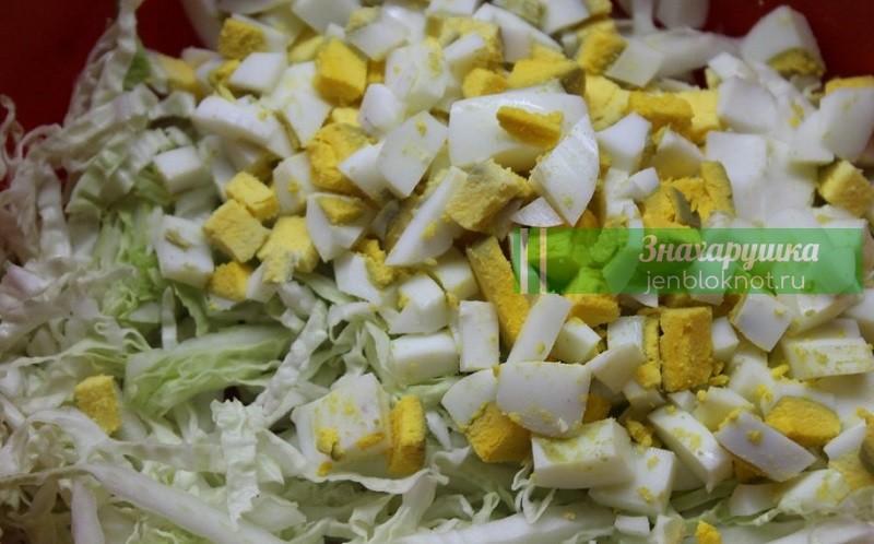 салат с пекинской капустой для похудения