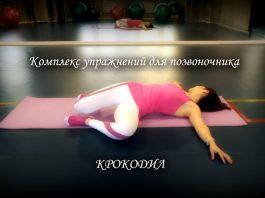 Комплекс упражнений «Крокодил» для спины и позвоночника доктора Антипко — 12 шагов