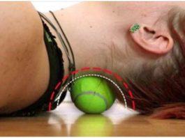Сможет заменить курс дорогого массажа, быстро убрать боль в спине (за 6 минут!) поможет круглый, самый обычный