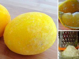 Замораживайте лимоны и вы попрощаетесь с диабетом, опухолями и ожирением