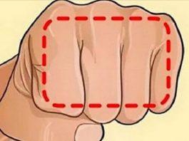 Если не получается похудеть, помогите себе кулаком. Это кажется невероятным, но этот трюк действительно работает
