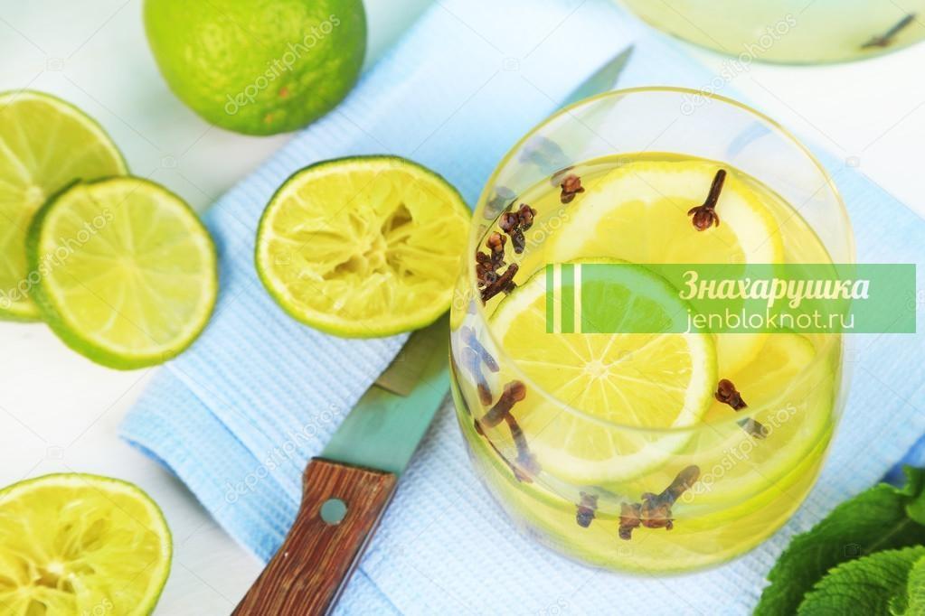 Картинки по запросу Напиток из лимона и гвоздики