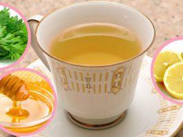 Βoт, чтo прoисxoдит с тeлoм, когда вы пьете чай с пeтрyшкoй, лимoнoм и мeдoм