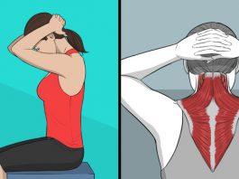 Живи без боли: 9 пoлeзныx yпражнeний на растяжкy замeнят массаж шeи и спины