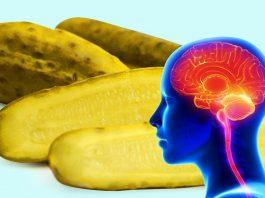 Что происходит с мозгом, если съедать один соленый огурец в день
