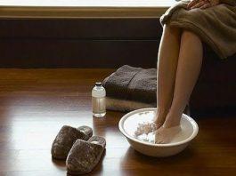 Раствор, вытягивающий из ног всю вашу боль…