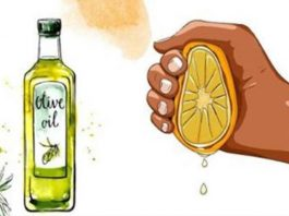 В сок 1 лимона добавьте ложку оливкового масла. Этот совет вы запомните до конца своей жизни