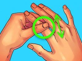 Потирайте свой указательный палец 60 секунд и посмотрите, что случится с вашим телом