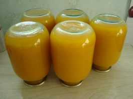 Тыквенный сок с апельсинами и лимонами на зиму. Вкусно и полезно