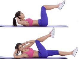 Упражнение «Косточки», которое помогает избавиться от жирной прослойки на животе и сбросить в весе до 10 кг