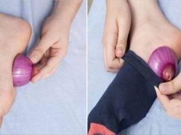 Зачем класть лук в носки перед сном