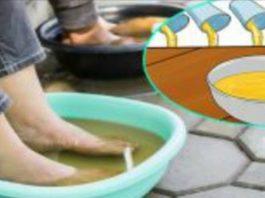 Делайте ванночку для ног в уксусе раз в неделю, и вы увидите, как исчезнут все ваши болезни