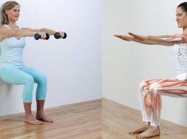 Одно упражнение — 5 минут и у вас будут стройные ноги, плоский живот и избавиться от болей в коленях и лишнего веса