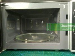 Как почистить микроволновку до идеальной чистоты за 3 минуты