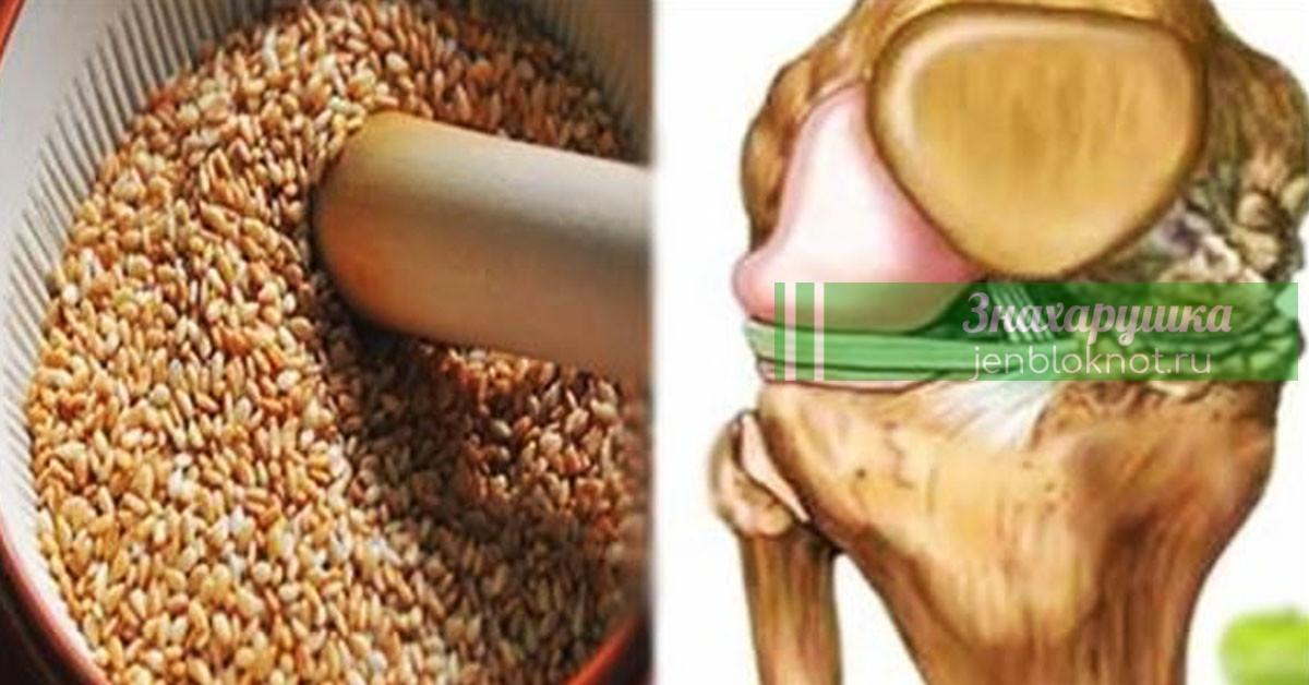 Эти семена восстановят сухожилия, снимут боли в коленях и избавят от лишнего веса!