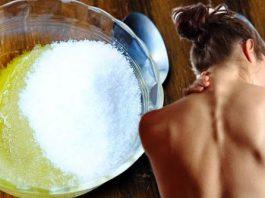 Смешайте оливковое масло и соль: в течение следующих пяти лет вы забудете про боль