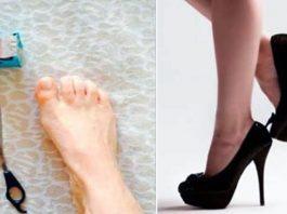 Простой трюк поможет ходить на высоких каблуках без боли и дискомфорта. Это реально работает